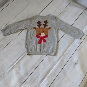 H&M 12-18M Boys Reindeer Sweater
